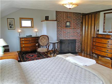 Chatham Cape Cod vacation rental - Upstairs queen bedroom with water views, private full bath
