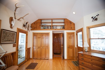 Chatham Cape Cod vacation rental - Entryway Foyer leading to master bedroom