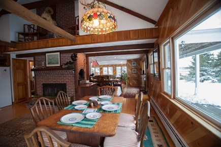 Chatham Cape Cod vacation rental - Open kitchen dining room
