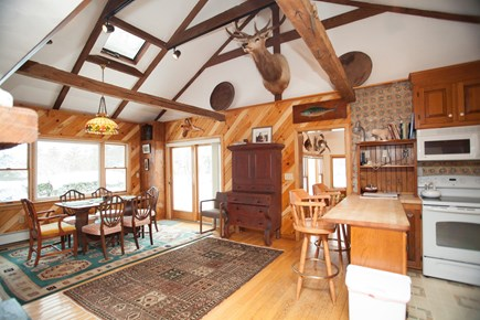 Chatham Cape Cod vacation rental - Kitchen and adjacent dining area, waterviews