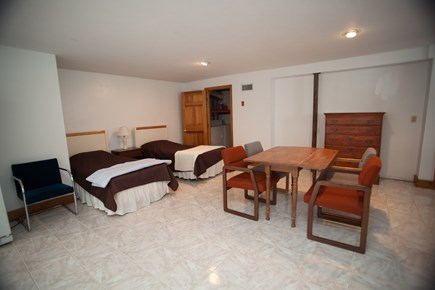 Chatham Cape Cod vacation rental - Basement sleeping area, full bath, washer and dryer