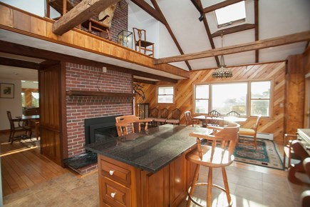 Chatham Cape Cod vacation rental - Kitchen Island and adjacent table