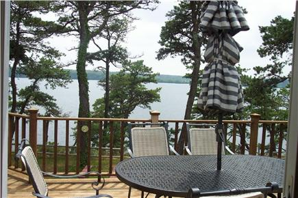 Brewster Cape Cod vacation rental - Peaceful pond view from oversized deck