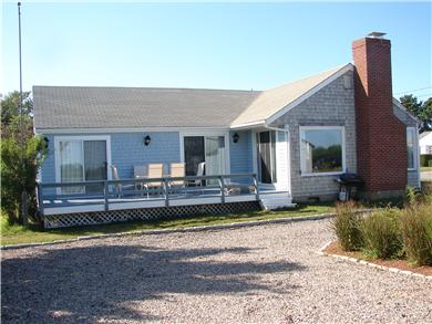 Mashpee, Popponesset Cape Cod vacation rental - Lounge on the large deck facing the ocean