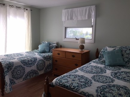 Mashpee, Popponesset Cape Cod vacation rental - Guest bedroom with views of the ocean and access to the deck,