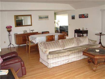 Mashpee, Popponesset Cape Cod vacation rental - Picture of the 25' x 25' living room / dining room