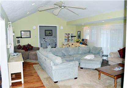 New Seabury New Seabury vacation rental - Huge living room with 50+ in LED and multiple couches & fireplace