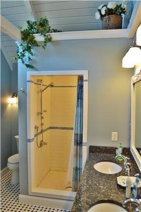 New Seabury New Seabury vacation rental - Tile floors & shower w/rainforest & body sprays, granite vanity