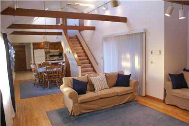 West Dennis Cape Cod vacation rental - Dining Room/Kitchen