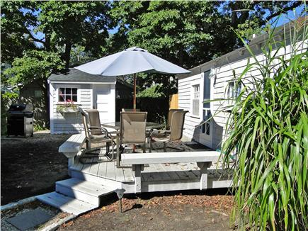 Falmouth Heights Cape Cod vacation rental - Fabulous deck area with grill