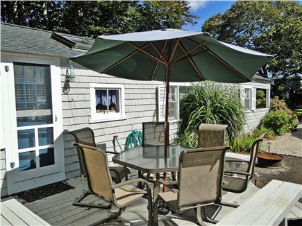 Falmouth Heights Cape Cod vacation rental - Dine outside, gather for morning coffee, afternoon drinks