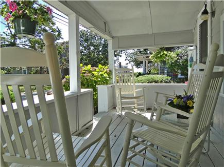 Falmouth Heights Cape Cod vacation rental - Sit out front on the farmer's porch among the hydrangeas