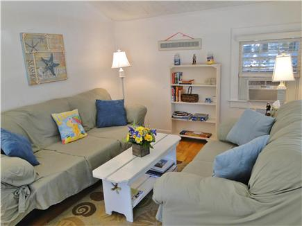 Falmouth Heights Cape Cod vacation rental - Comfortable, bright living area with flat screen TV