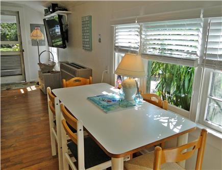 Falmouth Heights Cape Cod vacation rental - Dining area for 6