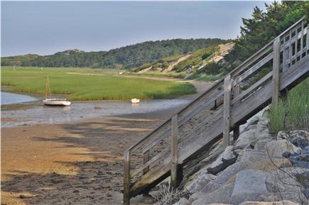Wellfleet Cape Cod vacation rental - View from you private steps on the beach