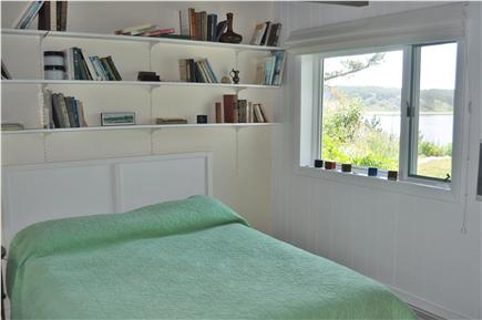 Wellfleet Cape Cod vacation rental - 3rd Bedroom with views of the garden and sea