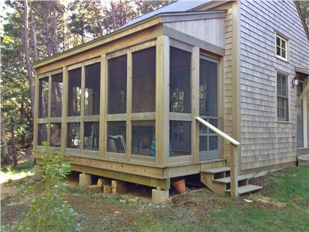 Truro Cape Cod vacation rental - Screened porch