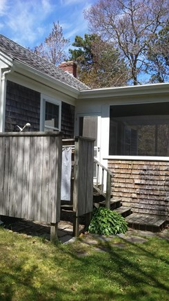 Brewster Cape Cod vacation rental - Glorious Outdoor Shower!