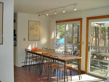Wellfleet Cape Cod vacation rental - Dining Room with Access to Deck