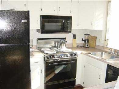 Wellfleet Cape Cod vacation rental - Kitchen with Modern Appliances