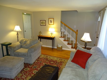 Centerville Centerville vacation rental - Living room with wood floors, comfortable furniture