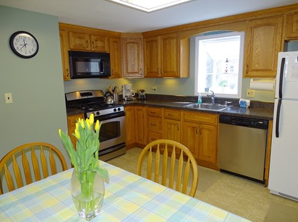 Centerville Centerville vacation rental - Newly refurbished kitchen with dining area