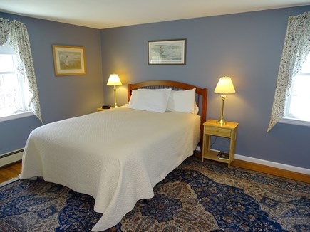 Centerville Centerville vacation rental - Queen master bedroom with desk and TV