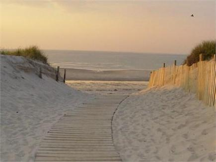Dennis Cape Cod vacation rental - Pathway to one of the beautiful north side beaches.