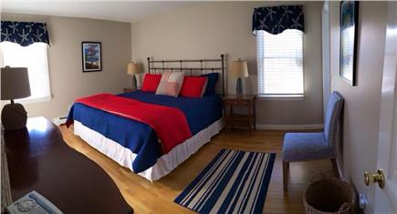 Dennis Cape Cod vacation rental - Master bedroom with king bed and private bath