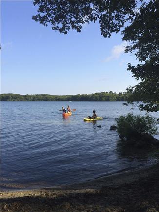 Harwich Cape Cod vacation rental - Kayak on Long Pond