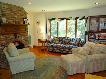 Harwich Cape Cod vacation rental - Living room with comfortable seating and lots of games