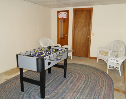 Harwich Cape Cod vacation rental - Basement play-extra space for the kids!