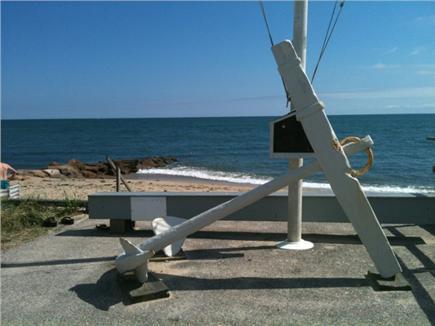 Mashpee, Popponesset Cape Cod vacation rental - Street view to beach
