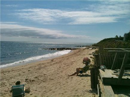 Mashpee, Popponesset Cape Cod vacation rental - Beach view from end of our street