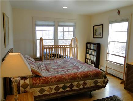 Brewster Cape Cod vacation rental - Downstairs bedroom with queen-sized bed
