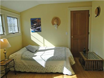 Brewster Cape Cod vacation rental - Upstairs bedroom with queen-sized futon and desk