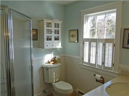 Brewster Cape Cod vacation rental - Downstairs bathroom