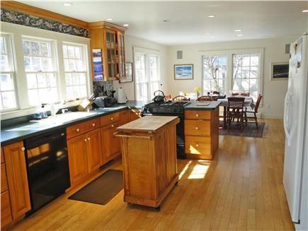 Brewster Cape Cod vacation rental - Spacious and sunny kitchen area