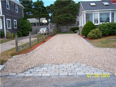 Dennis Cape Cod vacation rental - Driveway
