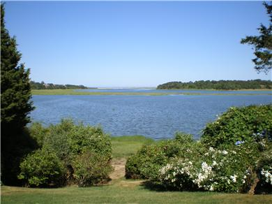 East Orleans Cape Cod vacation rental - Water view (view from the house is broader and more panoramic)