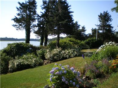 East Orleans Cape Cod vacation rental - Water view and private backyard garden