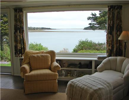 East Orleans Cape Cod vacation rental - Lovely water views from living room