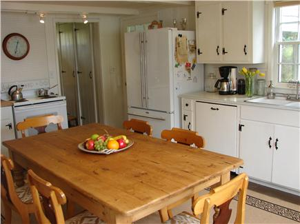 East Orleans Cape Cod vacation rental - Bright kitchen with dining area