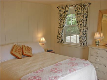 East Orleans Cape Cod vacation rental - Lovely queen bedroom, bright and airy, faces water