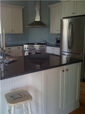 Falmouth, Sippewissett Cape Cod vacation rental - Kitchen with large breakfast bar