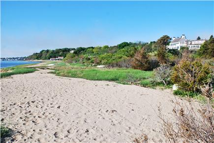 No. Chatham Cape Cod vacation rental - Looking Back at house from private beach