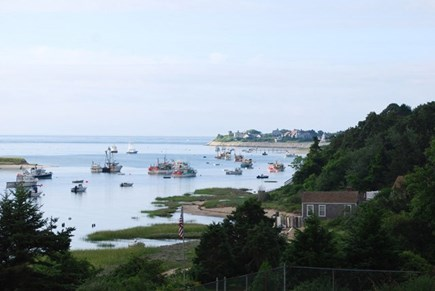 No. Chatham Cape Cod vacation rental - View South toward Chatham Fish Pier
