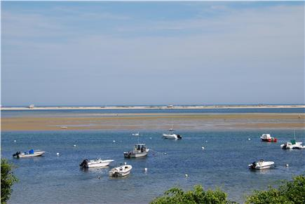 North Chatham Cape Cod vacation rental - The view from the large outdoor shower