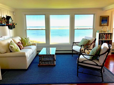 North Chatham Cape Cod vacation rental - Terrific open floor plan, full ocean views, comfortable seating