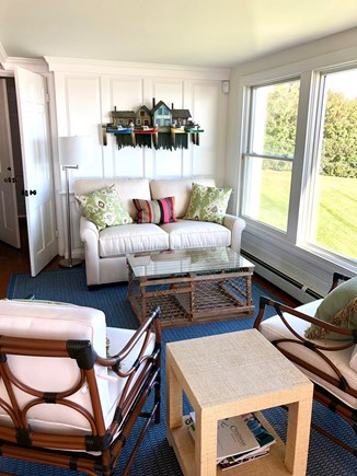 North Chatham Cape Cod vacation rental - Plenty of cozy seating, favorite spot to drink coffee!